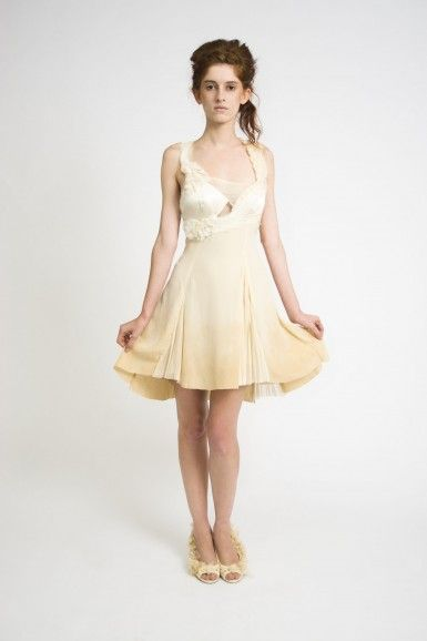 Ombre Dyeed Silk Chiffon Dress
