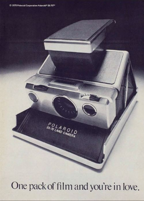 : Vintage Polaroid, Childhood Memories, Polaroid Camera, 1970S Adverti,  Polaroid Land Camera, 1970S Childhood, Sx 70 Polaroid, Art Design Photography, Polaroid Ads