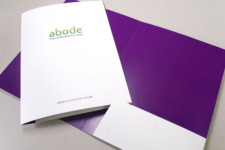 We offers absolutely unique presentation folder printing in UK - resume folders