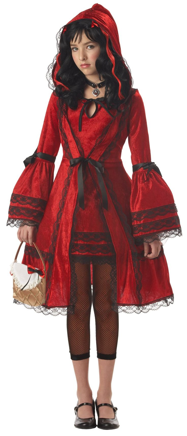 Red Riding Hood Tween Costume from BuyCostumes.com