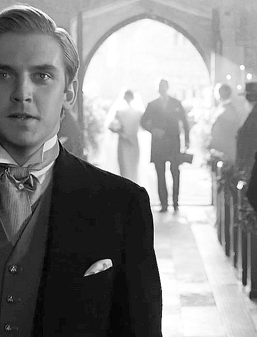 So I love that this is Downton but I just can't express how much I would want a shot like this at my wedding! Or backwards - From behind me to his smiling face!
