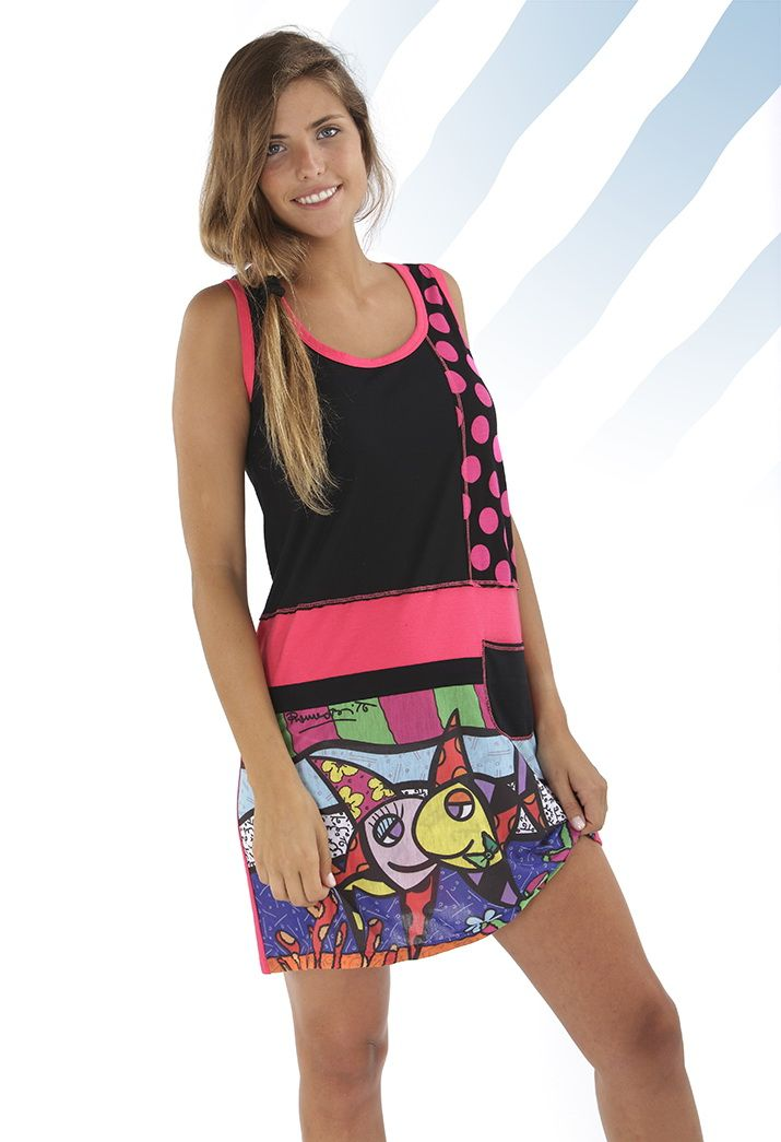 Camisola Romero Britto #beach #massana #homewear