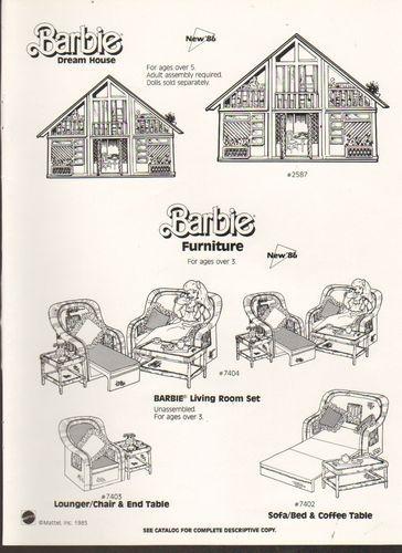barbie dream house instructions manual