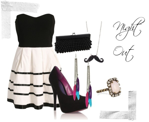 """""""Night Out"""" by allanaaaa on Polyvore"""