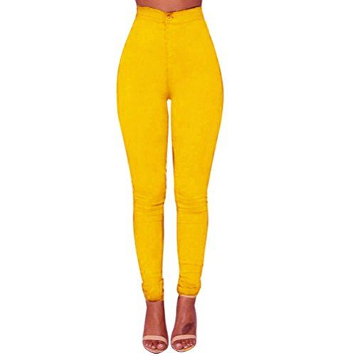 Special Offer: $9.65 amazon.com Women Denim Jeans New Fashion Multi Colors Girl Casual Jeans Pants NOTE: Please compare the detail sizes with yours before you buy!!! Use similar clothing to compare with the size. Specifications: Material:Polyester, Demin Pant Style:Pencil Pants Front...