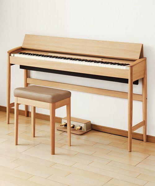 roland creates kiyola kf-10 digital piano with wood by karimoku
