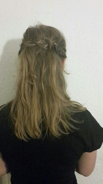 Flettet hår braid