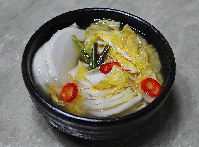 여름 배추 동치미/짜릿한 배추 물김치 – 레시피 | Daum 요리