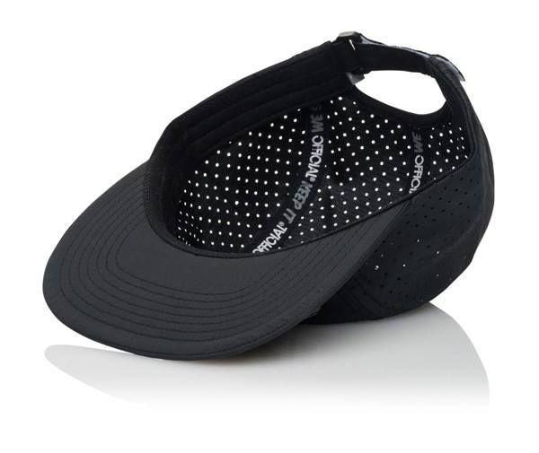 Official Cap Aero Black 5 Panel Perforated Strapback Skateboard Hat OSFM 2 | snapchat @ http://ift.tt/2izonFx