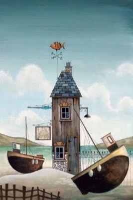 Hopes And Dreams I by Gary Walton, Art Print