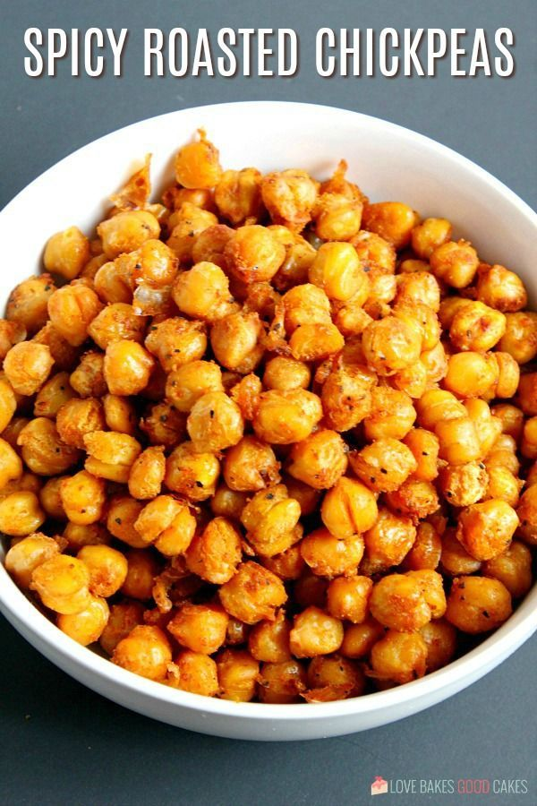 Spicy Roasted Chickpeas Recipe Spicy Roasted Recipes Roasted Chickpeas Spicy
