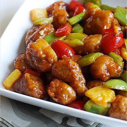 Chinese Sweet and Sour Pork Recipes Easy