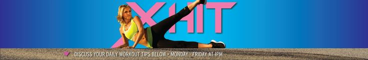 XHIT Daily - YouTube did a plank one this morning. It was actually fun!