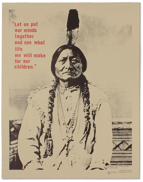 famous native american quotes NATIVE AMERICANS] People