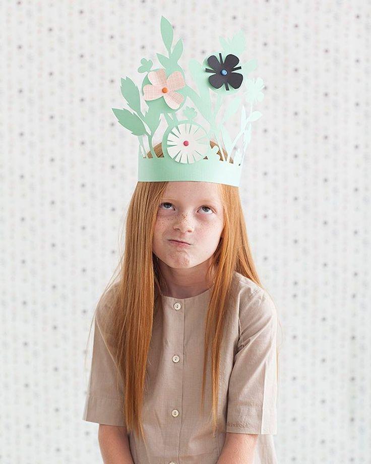 playul paper crown | @mer_mag