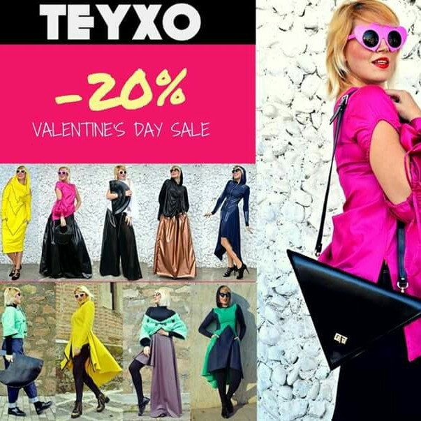Do you want something cool and edgy for Valentine's Day? Try out our new collection and enjoy our sale! Falling in love at first sale <3