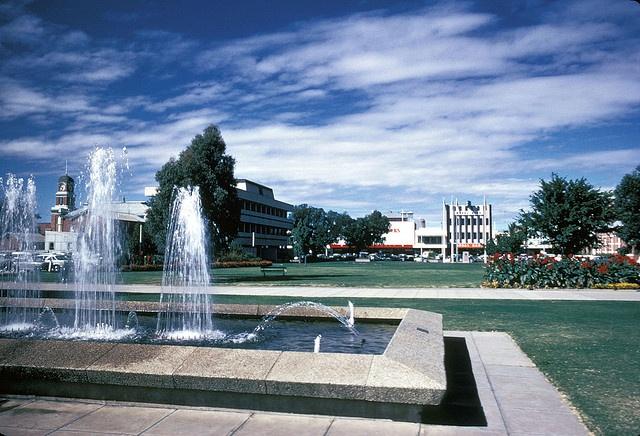 Civic Centre Albury 1970 Dean Street