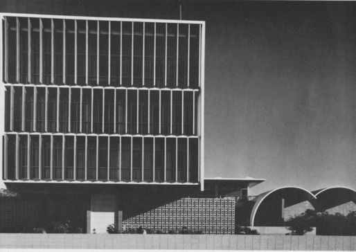 Richard Neutra, US Embassy in Karachi, Pakistan, 1955.  Please sign petition started by Dion Neutra to preserve this important structure.