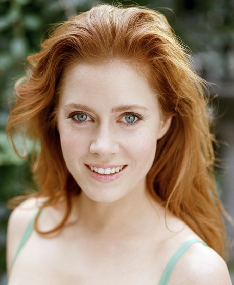 Not a natural redhead, but she wears it well.  Adams. Watch her in: The Fighter, Missy Pettigrew Lives for a Day, Enchanted, Junebug, Julie and Julia, Doubt, The Office