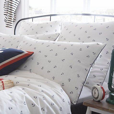 Buy Seasalt Embroidered Anchor Bedding Online at johnlewis.com