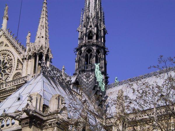 Cathédrale Notre Dame De Paris Flèche Toiture Et Charpente Notre Dame De Paris Cathédrale La Cathedrale Notre Dame Cathédrale