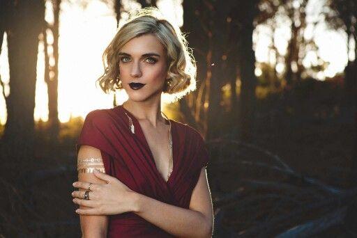 Model: Anja van den Spuy Photographer: Grethe Rosseaux Photography MUAH: Sam Ellenberger Makeup Artistry