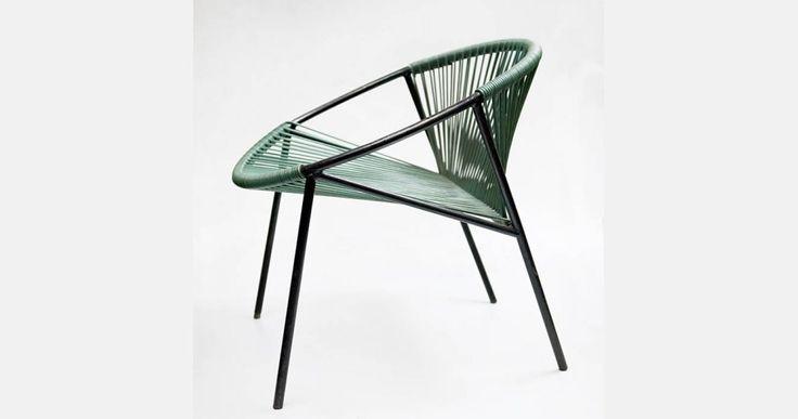Teresa Kruszewska | fotel | 1958–1962 | wyprodukowany przez Spółdzielnię Koloru, z kolekcji Muzeum Narodowego w Warszawie, fot: Michał Korta