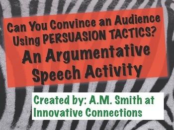 visual argument topic ideas