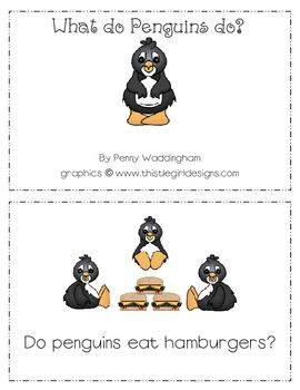 Interactive Penguin story along with science activities,recording sheet and physical education game....