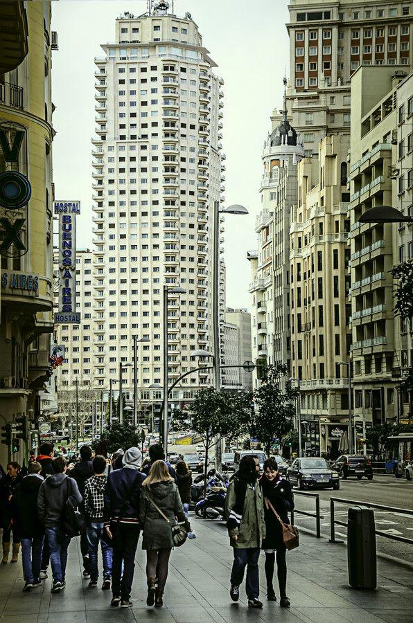 Madrid my love by Cretu Stefan on 500px