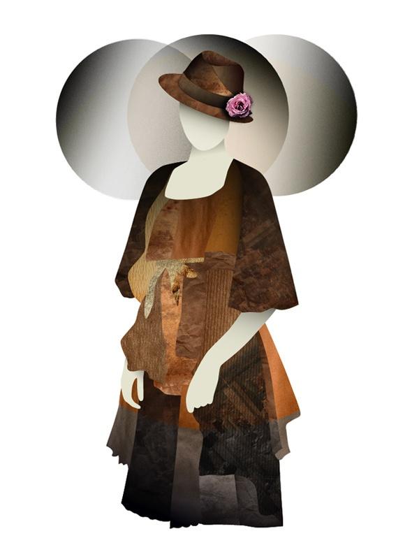 Fashion illustrations by Penny Zevoli, via Behance: Projects Fashion Illustrations, Illustrations Inspiration