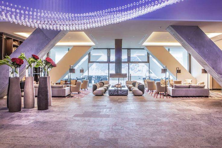 Lobby la InterContinental Davos