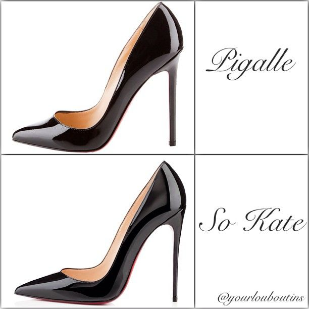 difference between louboutin so kate and pigalle