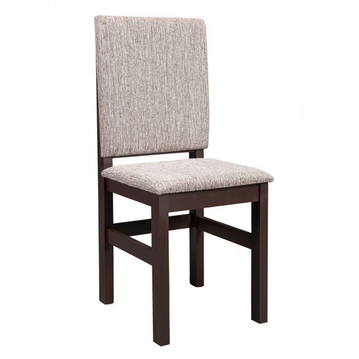 Conjunto 2 Cadeiras Estofada 2012 Tabaco Com Bege