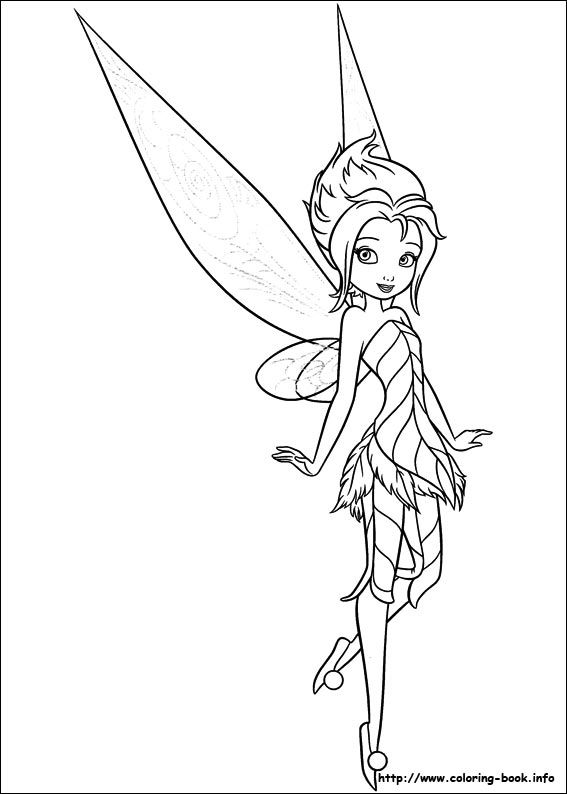 Secret of the Wings coloring picture | All Things Disney ...
