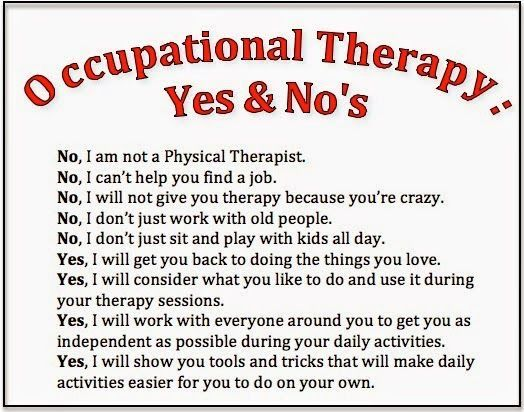 Best Ot  Quotes Images On   Occupational Therapy