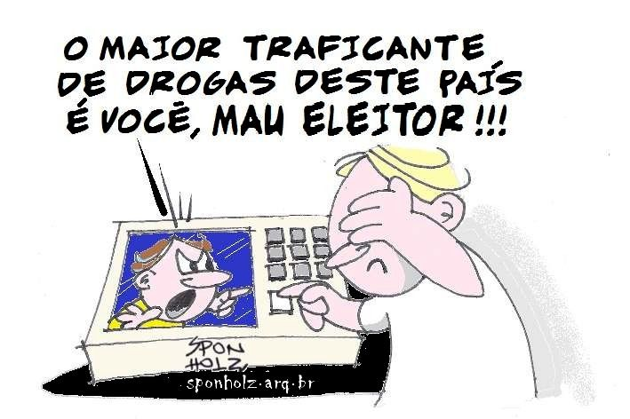 E Viva a Farofa!: A conta é sua, eleitor. Nada é tão ruim que não possa piorar. É o caso do sistema político brasileiro.