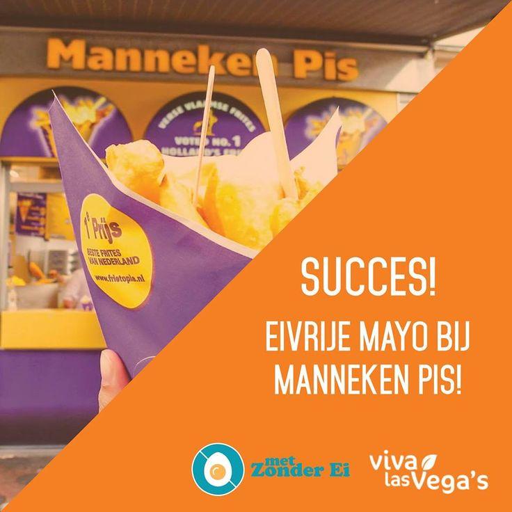 enfin et bravo :) Pays-Bas : une enseigne de resto-snack adopte la #MAYONNAISE #VEGETALE _ Voor het eerst in #Nederland: #veganistische #mayonaise bij een patatketen.  #VivaLasVegas  @veganism  Nederlandse Vereniging voor Veganisme
