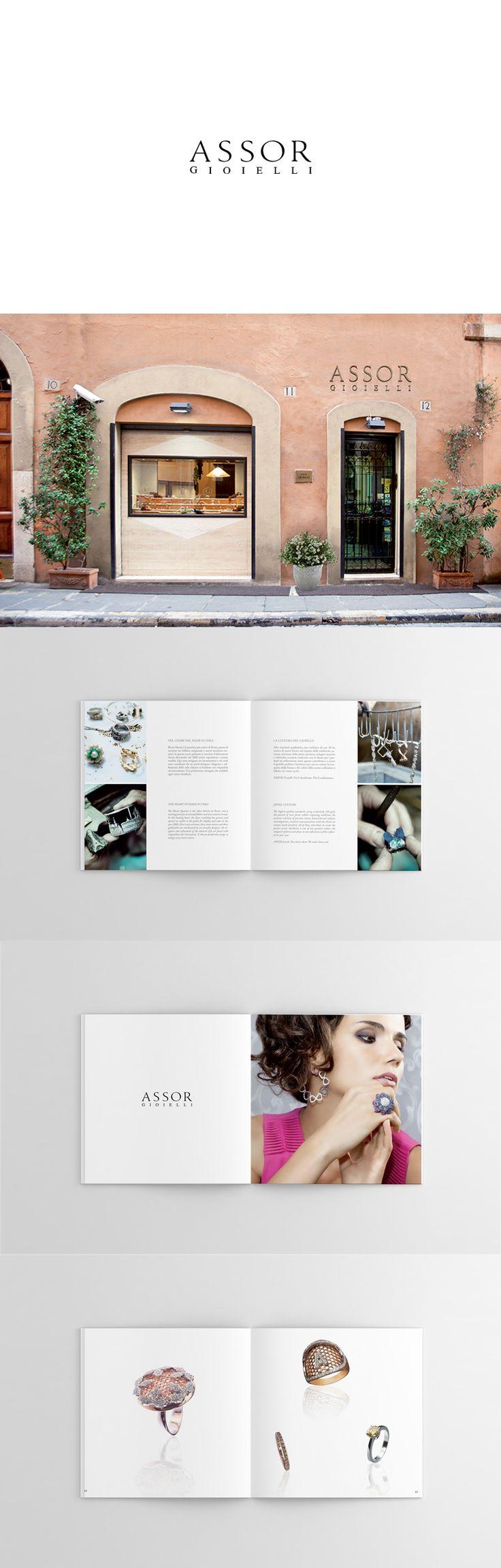 Assor Gioielli, Brand Design ─ Giulio Patrizi Design Agency ©   #brochure #branding #design