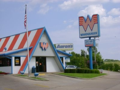Serving excellent burgers to Texans since August 8, 1950. The first Whataburger was located at 2609 Ayers Street, across from Del Mar College, in Corpus Christi. The price of the burger was twenty-five cents.