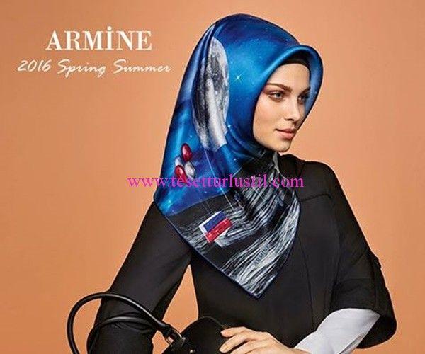 Armine 2016 İlkbahar-Yaz Eşarp Modelleri