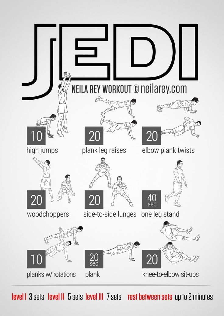 Jedi Workout | neilarey.com | #fitness #bodyweight