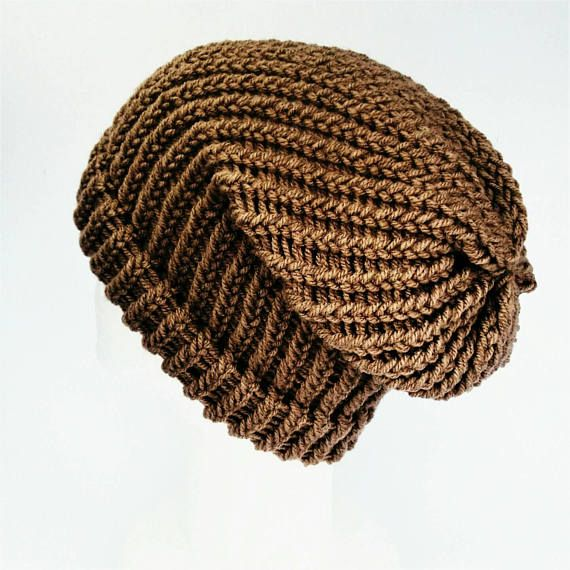 Check out this item in my Etsy shop https://www.etsy.com/uk/listing/534118004/mocha-slouchy-hat-teen-girl-beanie-brown