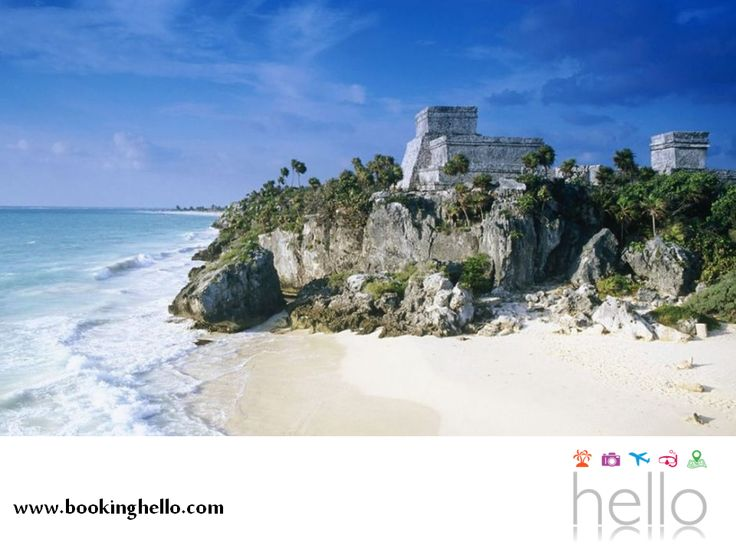 EL MEJOR ALL INCLUSIVE AL CARIBE. Si elegiste los packs de Booking Hello para disfrutar el Caribe mexicano con tus amigos, te recomendamos tomarte un par de días para conocer su diversidad turística y visitar algunos de sus lugares más importantes como Tulum. Un sitio mágico donde podrán recorrer su zona arqueológica y contemplar su paisaje inigualable o nadar en la tranquilidad de su playa. #bookinghello