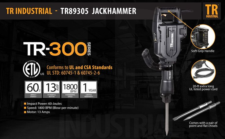 tr-industrial-tr89305-electric-jack-hammer