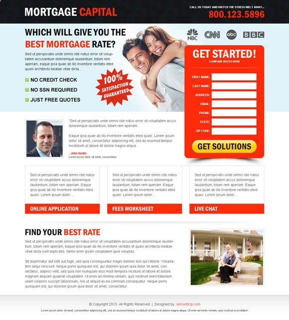 Buy and download landing page design or squeeze page design. | landing page design conversion