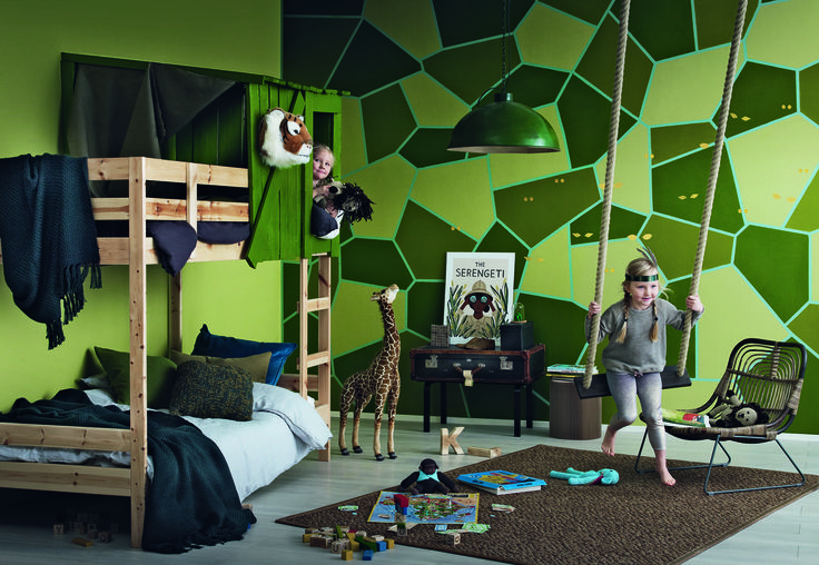 Tikkurila Kids Style - pokój dziecięcy - dżungla