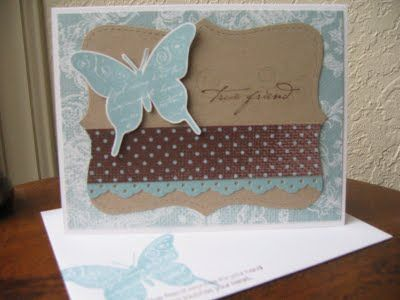 Stampin' in the Rain: Inspiration 09, Inspiration 06, Cards Inspiration