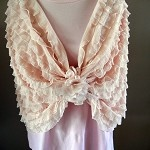 One for the Mummies!! Absolutely divine ruffled fabric infinity wrap.. - by OhMyGoodness on madeit