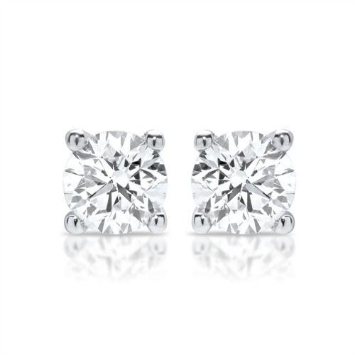 Bestellen Sie Ihre 585er Weißgold Ohrstecker mit Diamantbesatz bei The Jeweller. #diamant #schmuck #diamtschmuck #diamantohrringe #ohrringe #diamonds #earrings #diamondearrings #fashion #ootd
